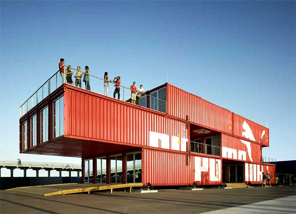 introduction of shipping containers